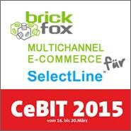 Logo Cebit 2015 - Multichannel E-commerce für Selectline