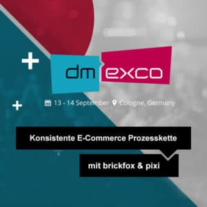 dmexco 2017 logo - eCommerce Prozesskette