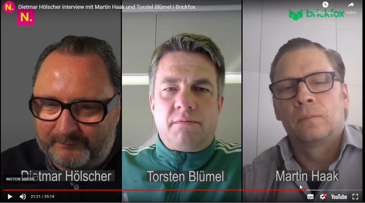 Interview Plattformökonomie   Bild Martin Haak, Torsten Blümel & Dietmar Hölscher